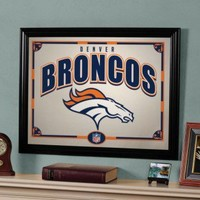 "The Memory Company Denver Broncos 22"" Printed Mirror - NFL-DBR-858 - All Wall Art - Wall Art & Coverings - Decor"