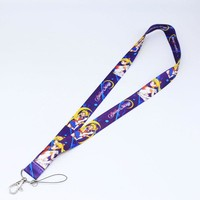 Brand New Japan Anime Sailor Moon Purple Lanyard