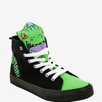 Rugrats Reptar Hi-Top Sneakers