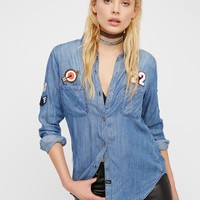 Free People Carter Dark Vintage Patch