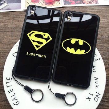 Superman Batman Cool Mirror Case for iPhone
