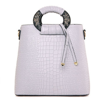 Ladies Tote Bag Stylish Shoulder Bag [4982896132]