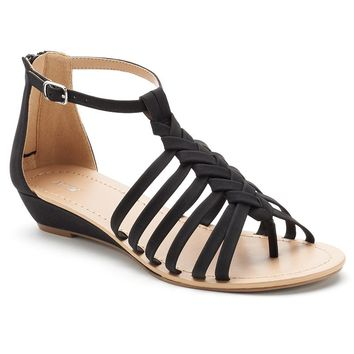 Apt. 9 Women's Braided Thong Wedge Sandals
