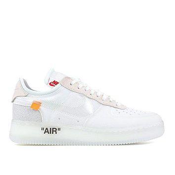 The 10 Nike Air Force 1 Low Off White
