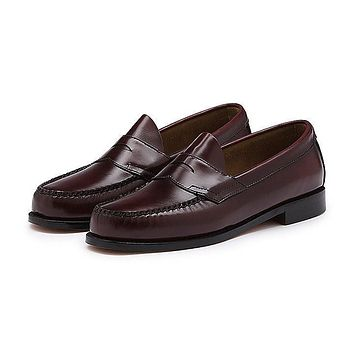Men's Logan Weejuns in Burgundy by G.H. Bass & Co.