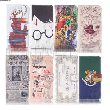 Harry Potter Design Wallet Leather case for iphone 7 Q1305