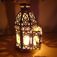 European Style Wall Candle Candlestick Wedding Crafts Wedding Lantern Vintage House Home Decoration