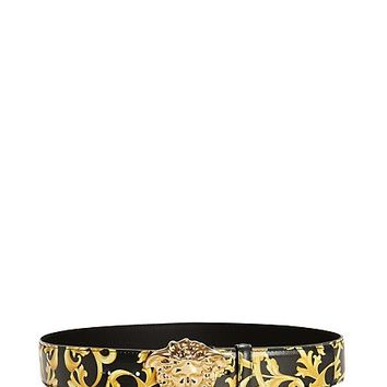 Versace - Barocco Calf Leather Belt