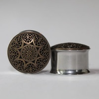 Intricate Tribal-Hippie-Bohos Plugs, gauges  5/8, 3/4, 7/8, 1 inch