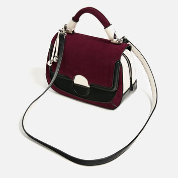 CONTRAST CROSSBODY BAG New