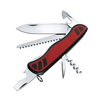Victorinox Swiss Army Forester MultiTool Pocket Knife - Solid Red Case - Reamer