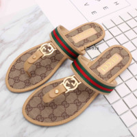 GUCCI Sandals summer ladies sandals women shoes fashion lady slipper