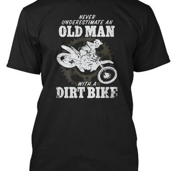 Never Underestimate Old Man Dirtbike