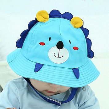 So Cute Baby Bear Shape Fisherman Cap Comfortable Hot Summer Gift 47