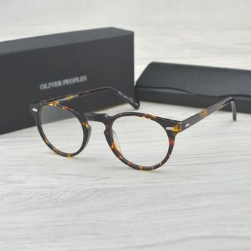 Vintage optical glasses frame OV5186 eyeglasses Oliver peoples Gregory peck ov 5186 reading glasses women and men eyewear frames