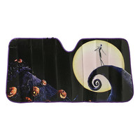 The Nightmare Before Christmas Movie Poster Accordion Sunshade