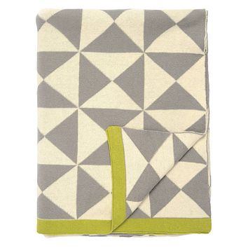 Wind Farm Cotton Throw Blanket