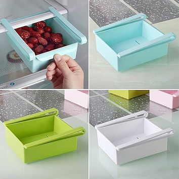 High Quality Kitchen Tools Portable Refrigerator Drawer Container Storage Holder Box