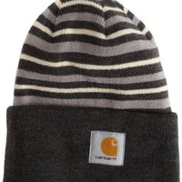 Carhartt Men's Striped Watch Hat