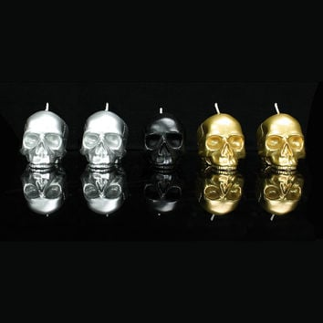 I liked this design on #Fab. Mini Skull Set Of 5 Metallic