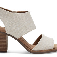 NATURAL YARN DYE WOMEN'S MAJORCA CUTOUT SANDALS