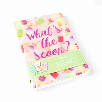 What's the Scoop Notebooks (Set of 3)