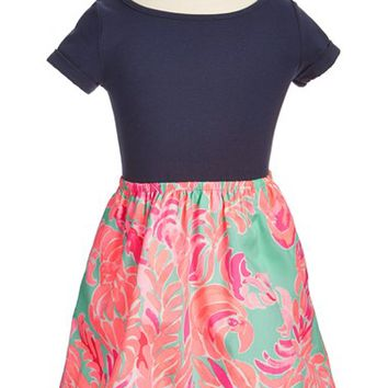 Lilly Pulitzer® 'Lacey' Fit & Flare Dress (Toddler Girls, Little Girls & Big Girls) | Nordstrom