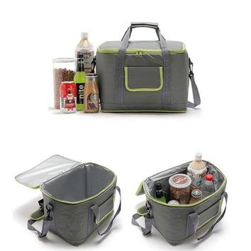 18L Waterproof Insulated Thermal Cooler Storage Bag Picnic Lunch Food Storage Pouch