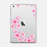 pink watercolour flowers iPad Mini 1/2/3 case by Julia Grifol Diseñadora Modas-grafica | Casetify