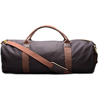 Extra Large Cotton Canvas Duffle Bag