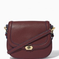 Structured Turnlock Saddle Bag | Charming Charlie