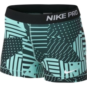 Nike Women's 3'' Pro Patch Work Printed Compression Shorts | DICK'S Sporting Goods