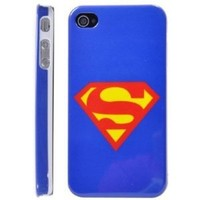 Superman Mark Hard Case for iPhone 4