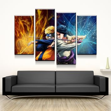 Naruto and Sasuke Canvas Set