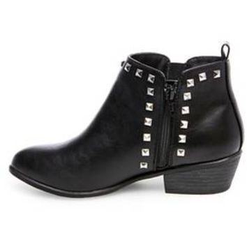 Women's Betseyville Rascal Studded Booties - Black