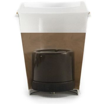 ASR Tactical Coffee Cup Hidden Compartment Valuables Protector Diversion Safe (Size: Small, Color: Black)