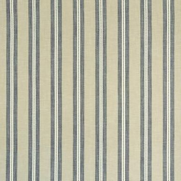 Clarke & Clarke Fabric F1020-1 Timo Charcoal/Linen
