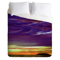 Amy Sia Island Sunset 3 Duvet Cover