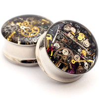 Steampunk Watch Parts Plugs
