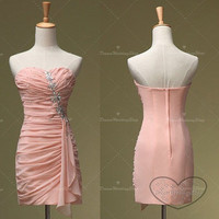 Mini Pink Prom Dresses,Cheap Mini Bridesmaid Dresses,Mint Party Dresses,Lovely Graduation Dresses.Chic And Unique.