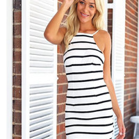 The Weekender Striped Dress | The Handmade Hustle