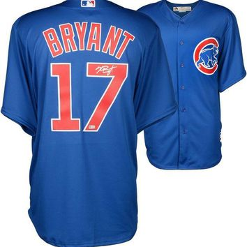 ONETOW Kris Bryant Signed Autographed Chicago Cubs Baseball Jersey (MLB Authenticated)