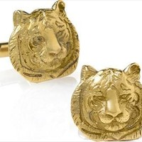 Tiger Wildlife Cufflinks - 7830