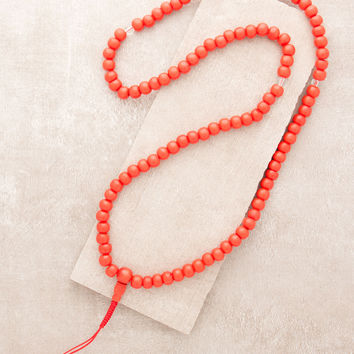 Fair Trade Red Bone Mala
