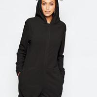Ofelya Boutique Onesuit Playsuit in Cosy Polar Fleece Onepiece Women