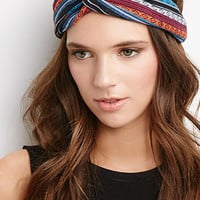 Southwestern-Patterned Knot Headwrap