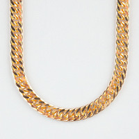The Gold Gods Gold Cuban Link Chain Necklace Gold One Size For Men 24454062101
