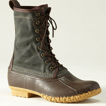 Waxed Canvas Maine Hunting Shoe, Men's: FOOTWEAR | Free Shipping at L.L.Bean