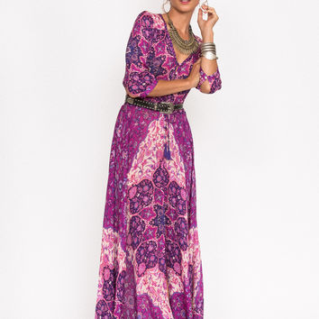 Spell    Kiss the sky gown in violet