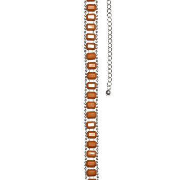 Hard Candy Desert Stone Chain Belt